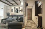 Однокомнатная квартира студия фото дизайн – Дизайн однокомнатной квартиры. 50 фото-идей оформления современного интерьера 1 комнатных квартир