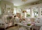 Прованс в интерьере гостиной – дизайн интерьера маленького зала, оформление с элементами «классики», современные примеры ремонта