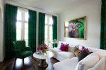 Изумрудный цвет в интерьере сочетание с другими цветами – Изумрудный цвет в интерьере, дизайн комнаты, квартиры, гостиной, спальне, детской, ванной