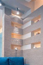 Комната из гипсокартона – гипсокартон в интерьере квартиры, колонны и другие оригинальные идеи для спальни и для гостиной, отделка под кирпич