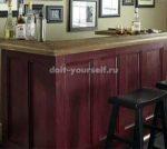 Сделать стойку барную – Как смастерить барную стойку своими руками. Как сделать барную стойку в рустик стиле