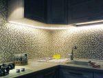 Светодиодные ленты для кухни под шкафы монтаж – Монтаж светодиодной ленты на кухне своими руками: как установить подсветку, видео-инструкция