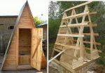 Туалет треугольный – Как построить туалет на даче своими руками, строительство дачного деревянного туалета с фото, устройство туалета и чертежи