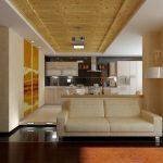 Интерьеры кухня столовая гостиная фото – Дизайн интерьера гостиной кухни: в современном и классическом стиле, студии столовой с барной стойкой, фото. Совмещенная кухня и гостиная в частном доме с камином, в хрущевке