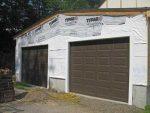 Как сделать ворота на гараж из досок – как сделать из профиля в гараж, этапы изготовления, чертежи, стандартные размеры и устройство поворотных самодельных ворот