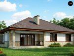 Красивые дома одноэтажные проекты – их типы, проекты и фото