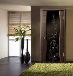 Двери с матовым стеклом межкомнатные фото – прозрачные межкомнатные модели цвета «венге», профиль со стеклянными вставками