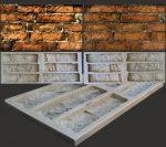 Изготовление гипсовой плитки – Формы для изготовления гипсовой плитки под кирпич своими руками: силиконовые и пластиковые