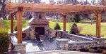 Мангалы в беседку – 43 ФОТО беседок с барбекю, финские, летние и зимние садовые домики, пошаговое строительство барбекю в беседке из дерева: проект, размеры и чертежи