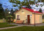 Одноэтажные дома 6 на 6 проекты – Одноэтажный дом из бруса 6х6, проект Д-35