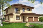 План дома 9 на 9 двухэтажный – Готовые проекты двухэтажных домов 9 на 9 метров с мансардой и полным вторым этажом