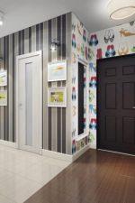 Прихожая дизайн обои – как правильно выбрать цвет и фактуру, какие изделия, зрительно увеличивающие пространство, подойдут для для узкого коридора в небольшой квартире