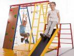 Спортивный комплекс для малышей для дома – Детский спортивный комплекс в квартиру