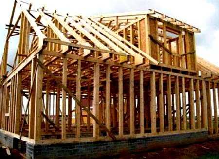 деревянный каркас дома как устроен каркас дома из бруса