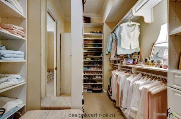 208409a4e93e Гардеробная большая комната – планировка с размерами, дизайн-проекты ...